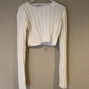 UNIF CROPPED SWEATER